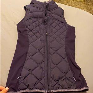 Purple lululemon vest